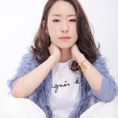 ロング 大人かわいい 外国人風 ピュア ヘアスタイルや髪型の写真・画像