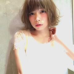 ゆるふわ 大人かわいい 外国人風 マルサラ ヘアスタイルや髪型の写真・画像