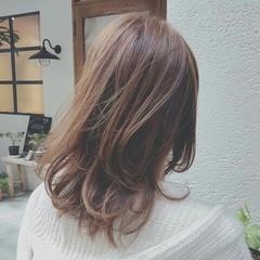 春 ハイライト グラデーションカラー 外国人風 ヘアスタイルや髪型の写真・画像