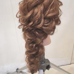 大人かわいい 結婚式 ヘアアレンジ ナチュラル ヘアスタイルや髪型の写真・画像