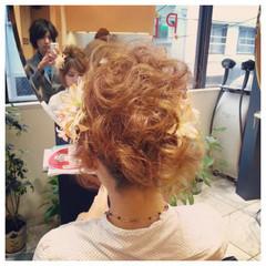 着物 ボブ ゆるふわ エアリー ヘアスタイルや髪型の写真・画像