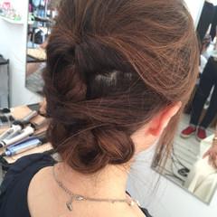ヘアアレンジ ロング フェミニン 大人かわいい ヘアスタイルや髪型の写真・画像