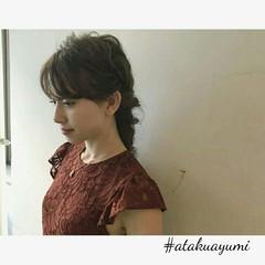 エレガント 上品 デート 透明感 ヘアスタイルや髪型の写真・画像