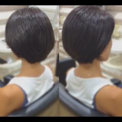 髪質改善カラー 髪質改善 ショートヘア ベリーショート ヘアスタイルや髪型の写真・画像
