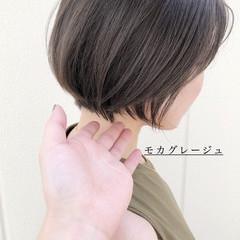 イルミナカラー グレージュ ナチュラル 透明感カラー ヘアスタイルや髪型の写真・画像