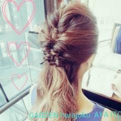 外国人風 グラデーションカラー ヘアアレンジ ストリート ヘアスタイルや髪型の写真・画像