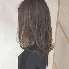 抜け感 春 イルミナカラー ロング ヘアスタイルや髪型の写真・画像