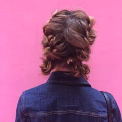 ヘアアレンジ アンニュイほつれヘア 成人式 フェミニン ヘアスタイルや髪型の写真・画像