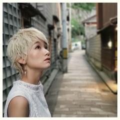 ショート かっこいい ストリート ヘアアレンジ ヘアスタイルや髪型の写真・画像