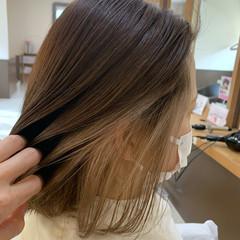 ナチュラル 外国人風カラー ボブ 透明感カラー ヘアスタイルや髪型の写真・画像