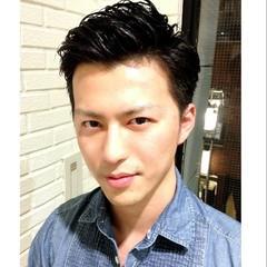 外国人風 メンズ ショート 簡単 ヘアスタイルや髪型の写真・画像