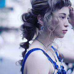 フェミニン 色気 ロング ヘアアレンジ ヘアスタイルや髪型の写真・画像