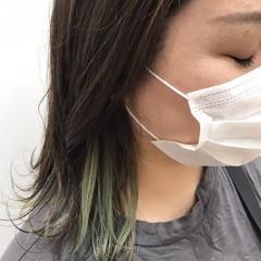 グレージュ 透明感カラー ナチュラル ボブ ヘアスタイルや髪型の写真・画像