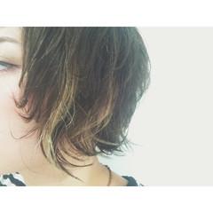 黒髪 ハイライト ストリート 外国人風 ヘアスタイルや髪型の写真・画像