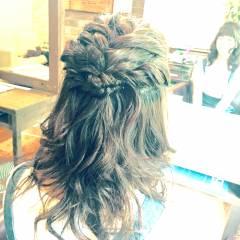 モテ髪 ヘアアレンジ 愛され ナチュラル ヘアスタイルや髪型の写真・画像