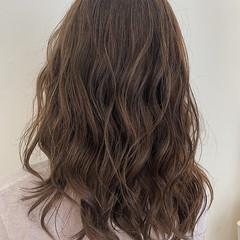 ナチュラル可愛い 可愛い 透明感カラー  ヘアスタイルや髪型の写真・画像