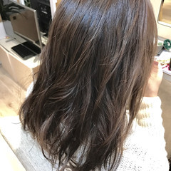 暗髪 ゆるふわ 春 外国人風 ヘアスタイルや髪型の写真・画像