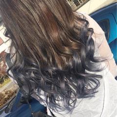 イルミナカラー ブリーチ 上品 ロング ヘアスタイルや髪型の写真・画像