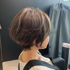 ショートヘア ベリーショート ミニボブ インナーカラー ヘアスタイルや髪型の写真・画像