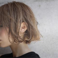 モード アッシュ 大人かわいい かっこいい ヘアスタイルや髪型の写真・画像