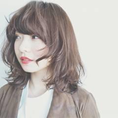 ウルフカット ロング 丸顔 マッシュ ヘアスタイルや髪型の写真・画像