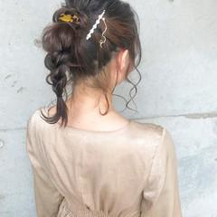 ナチュラル 結婚式ヘアアレンジ ヘアアレンジ 結婚式髪型 ヘアスタイルや髪型の写真・画像