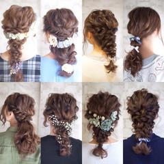 花嫁 大人かわいい セミロング 結婚式 ヘアスタイルや髪型の写真・画像