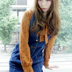 大人女子 ロング 大人かわいい ゆるふわ ヘアスタイルや髪型の写真・画像