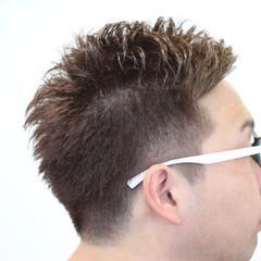ショート ボーイッシュ パーマ 刈り上げ ヘアスタイルや髪型の写真・画像