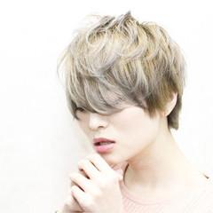 愛され グレージュ アッシュ 外国人風カラー ヘアスタイルや髪型の写真・画像