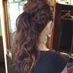 ヘアアレンジ ロング 結婚式 ヘアスタイルや髪型の写真・画像