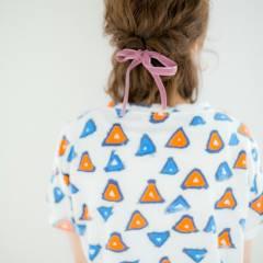 ヘアアレンジ モテ髪 愛され ガーリー ヘアスタイルや髪型の写真・画像
