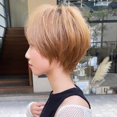 アンニュイほつれヘア 切りっぱなしボブ ショートボブ ショート ヘアスタイルや髪型の写真・画像