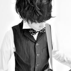 外国人風 ミディアム ストリート 黒髪 ヘアスタイルや髪型の写真・画像