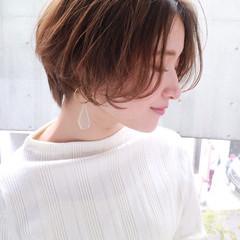 ショート ショートボブ ショートヘア ハンサムショート ヘアスタイルや髪型の写真・画像