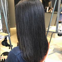 アッシュグレージュ ナチュラル 暗髪 oggiotto ヘアスタイルや髪型の写真・画像