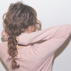 愛され ゆるふわ 大人かわいい セミロング ヘアスタイルや髪型の写真・画像