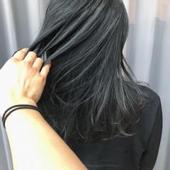 波巻き ナチュラル 暗髪 ブルージュ ヘアスタイルや髪型の写真・画像