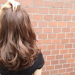 ロング ストリート アッシュ 外国人風 ヘアスタイルや髪型の写真・画像