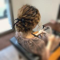 フェミニン ミディアム 和装 アップスタイル ヘアスタイルや髪型の写真・画像