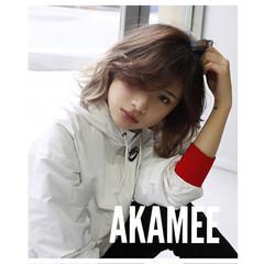 大人かわいい アッシュ 外国人風 グラデーションカラー ヘアスタイルや髪型の写真・画像