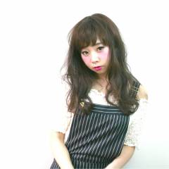 ウェットヘア コンサバ 暗髪 ロング ヘアスタイルや髪型の写真・画像