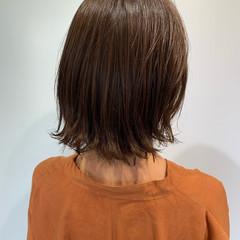 圧倒的透明感 おしゃれさんと繋がりたい ブランジュ ナチュラル ヘアスタイルや髪型の写真・画像