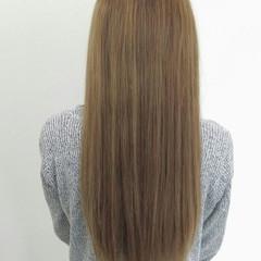 フェミニン ロング 外国人風 ハイライト ヘアスタイルや髪型の写真・画像