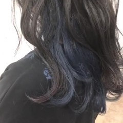 ヘアアレンジ 涼しげ セミロング 大人かわいい ヘアスタイルや髪型の写真・画像