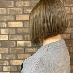 ボブ ナチュラル ブリーチ必須 ブリーチオンカラー ヘアスタイルや髪型の写真・画像