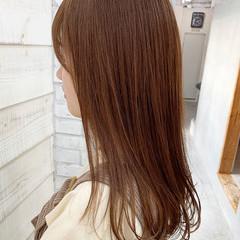 艶カラー ナチュラル オレンジカラー ダブルカラー ヘアスタイルや髪型の写真・画像