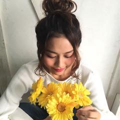 デート 大人かわいい ミルクティー フェミニン ヘアスタイルや髪型の写真・画像