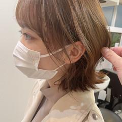 ボブ 切りっぱなしボブ 韓国ヘア 韓国風ヘアー ヘアスタイルや髪型の写真・画像