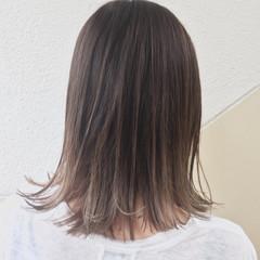 ハイライト ミディアム 外国人風カラー ストリート ヘアスタイルや髪型の写真・画像